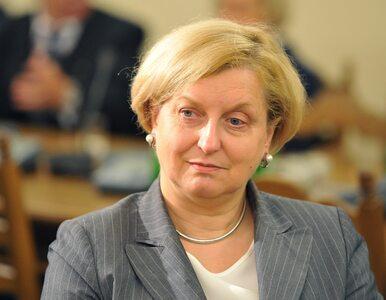 """Anna Fotyga pomoże w reformie NATO. """"Chcę, aby głos Polski był wyraźnie..."""
