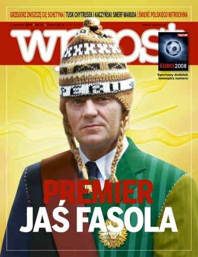 Okładka tygodnika Wprost nr 22/2008 (1327)