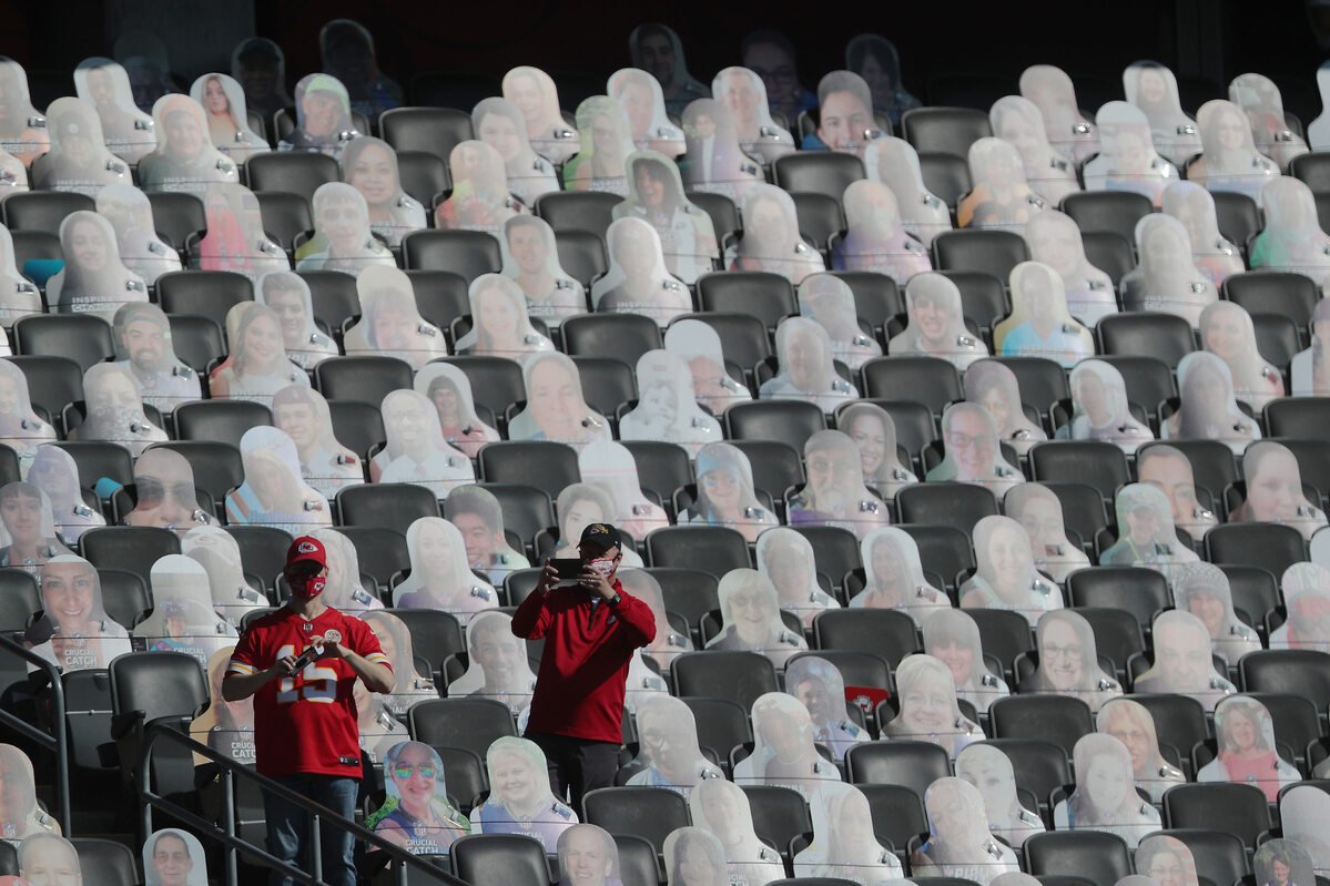 Puste miejsca na Super Bowl 2021