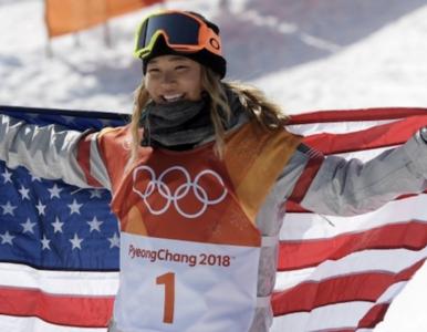 Kuriozalny wpis Chloe Kim. Snowboardzistka bawiła się na Twitterze w...