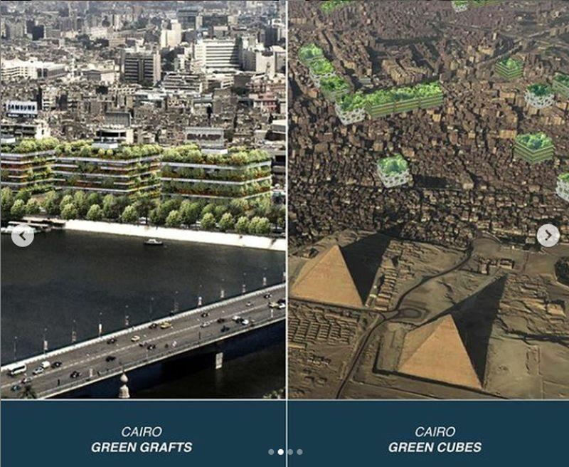 Zielone apartamentowce powstaną też w Kairze