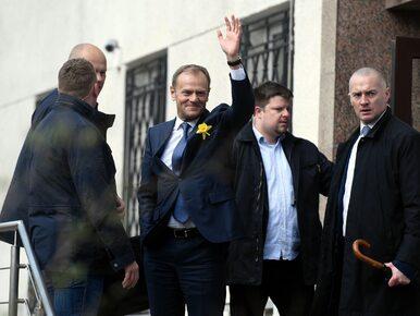 """Tusk spędził dziewięć godzin w prokuraturze. """"Sprawa ma charakter..."""