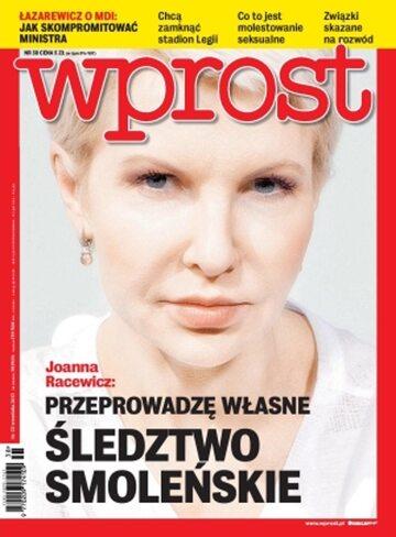 Okładka tygodnika Wprost nr 38/2013 (1595)