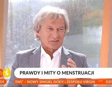 """Ekspert w TVP2 mówi o menstruacji. """"Jestem wrogiem miesiączki. Kobieta..."""