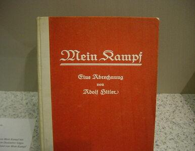 """""""Mein Kampf"""" obowiązkową lekturą szkolną w Bawarii?"""