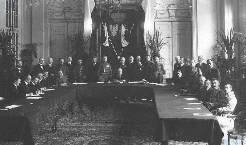 Inauguracyjne posiedzenie tymczasowej Rady Stanu (14 stycznia 1917)