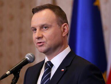 Andrzej Duda odznaczył zasłużonych działaczy opozycji demokratycznej