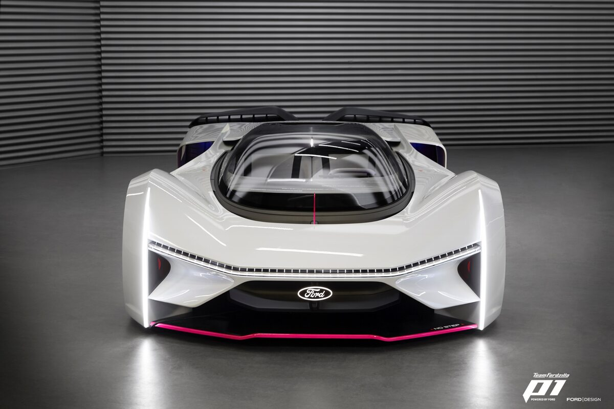 Fodzilla. Ford Extreme P1