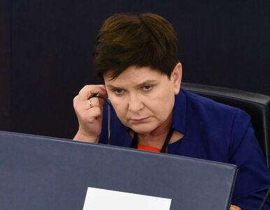 Beata Szydło zagłosuje przeciwko raportowi, który... koordynowała