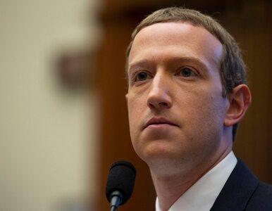 """Nadchodzi wojna z Facebookiem. """"W jego interesie nie jest zwalczanie..."""