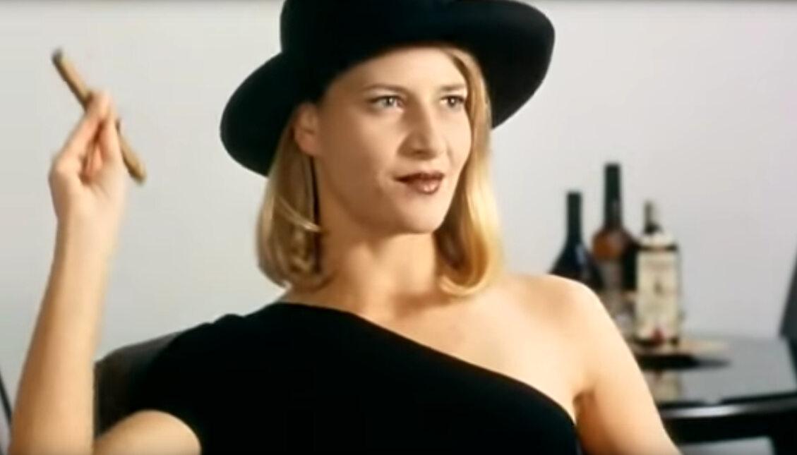 """Małgorzata Kożuchowska w filmie """"Kiler"""" (1997)"""