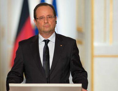 Nadzwyczajne przemówienie Hollande'a: Francja jest w stanie wojny