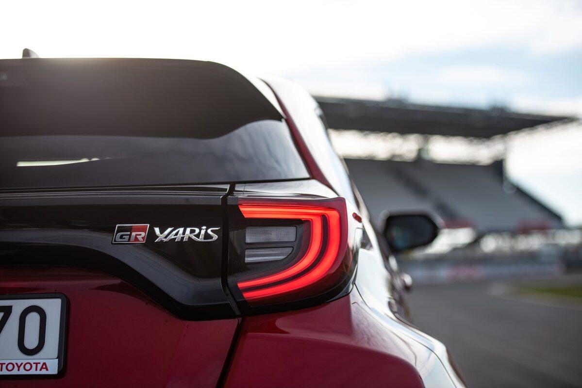 Toyota GR Yaris w Słomczynie
