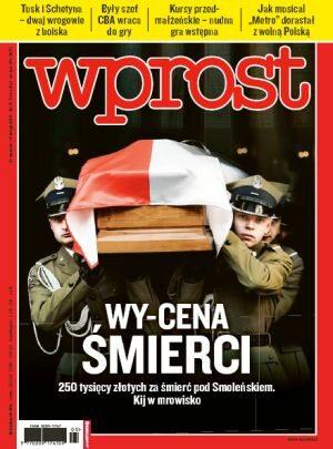 Okładka tygodnika Wprost nr 5/2011 (1460)