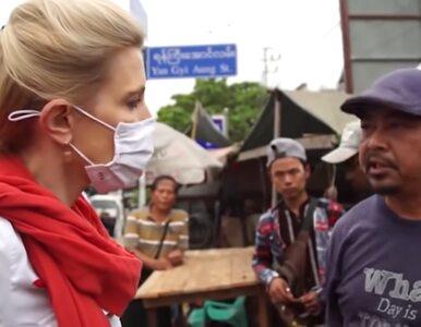 Pierwszy reportaż z Mjanmy po zamachu stanu. Dziennikarka CNN pyta...