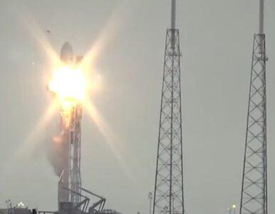 Eksplozja Falcon 9. Na sekundę przed wybuchem, kamery zarejestrowały......