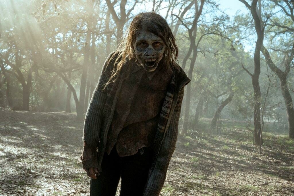 "Kadr z serialu ""Fear the Walking Dead"" (sezon 6B)"