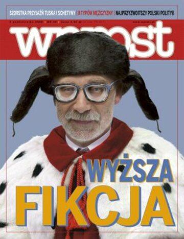 Okładka tygodnika Wprost nr 40/2008 (1345)