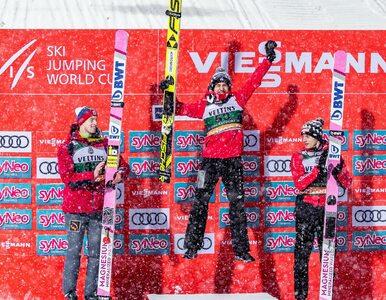 """Konkurs skoków w Oberstdorfie. Wpadka organizatorów podczas """"Mazurka..."""