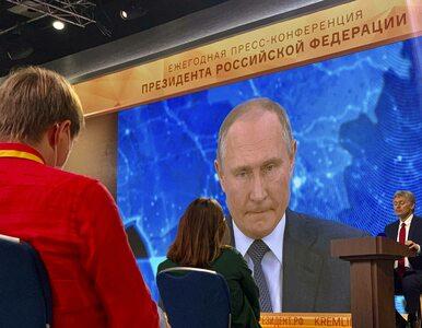 Na dorocznej konferencji Władimira Putina zapytano o otrucie Aleksieja...