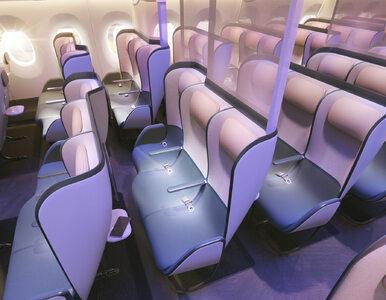 Koronawirus w samolocie już niestraszny? To wnętrze ma uchronić podróżnych
