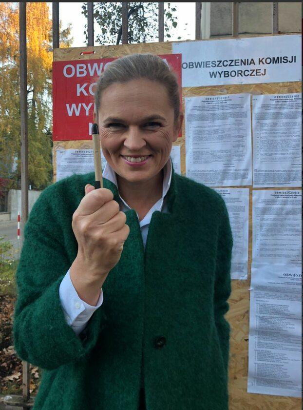 Barbara Nowacka po głosowaniu