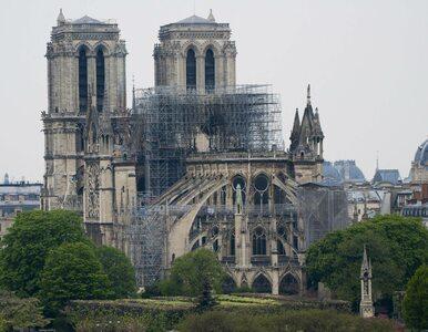 Francja. Katedra Notre Dame nie była ubezpieczona