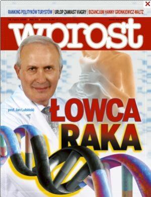 Okładka tygodnika Wprost nr 28/2008 (1333)