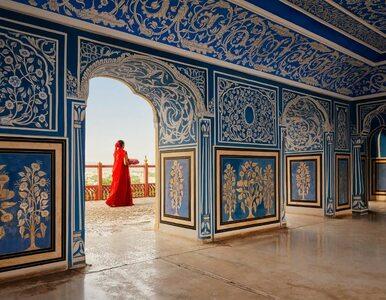 Apartament pałacu w Jaipurze do wynajęcia na Airbnb. Wnętrza prezentują...