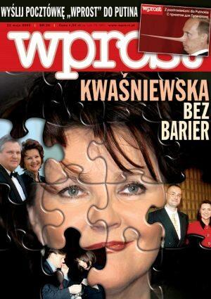 Okładka tygodnika Wprost nr 20/2005 (1172)