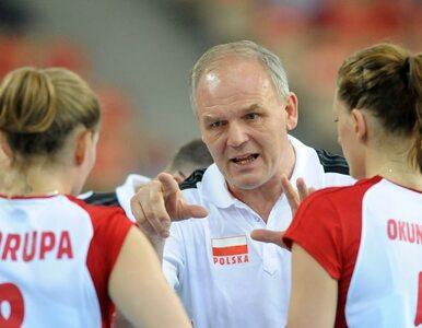 Trener reprezentacji Polski siatkarek zostanie zwolniony