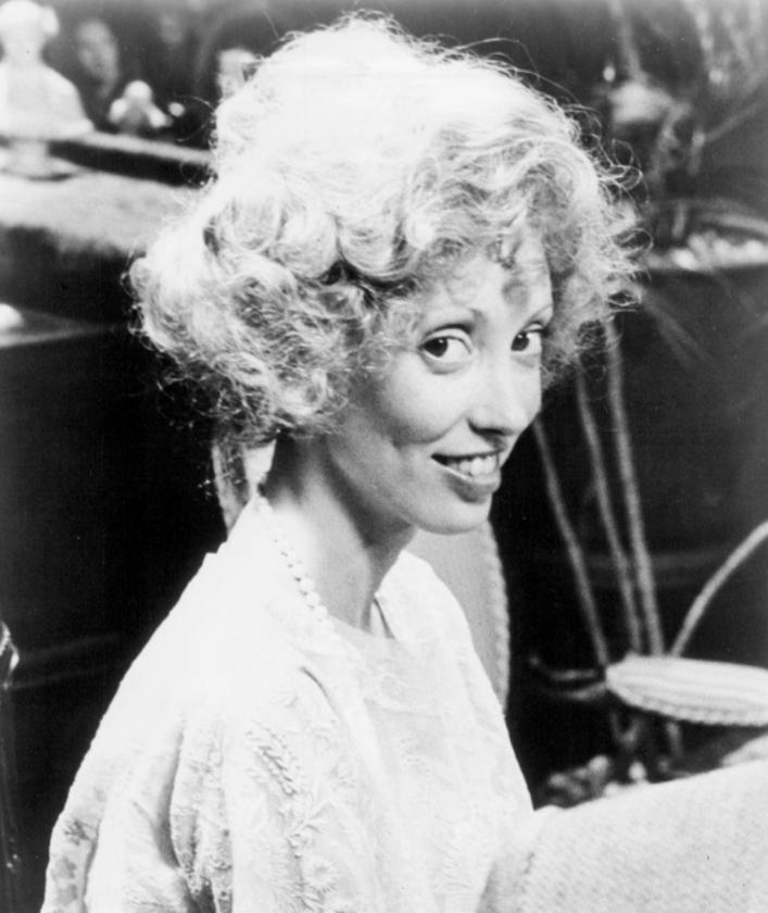 """Shelley Duvall na planie filmu """"Bernice Bobs Her Hair"""" (1976)"""