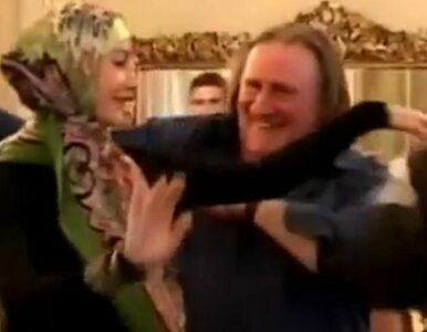 Depardieu tańczył z prezydentem. Chce nakręcić o nim film