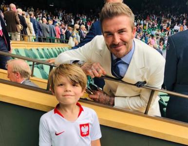 """David Beckham zrobił sobie """"sesję"""" z polskim fanem. Wiemy, kim jest..."""
