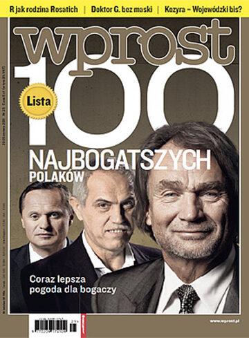 Okładka tygodnika Wprost nr 25/2011 (1480)