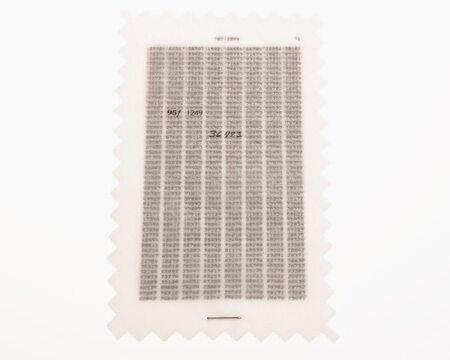 Kartka z kodami jednorazowymi do rozszyfrowywania wiadomości (fot. CIA)