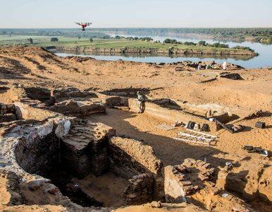 Niezwykłe odkrycie polskich archeologów. Nad Nilem odkopali ruiny...