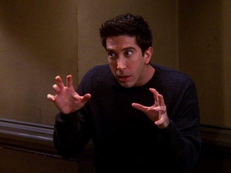 """David Schwimmer w serialu """"Przyjaciele"""""""
