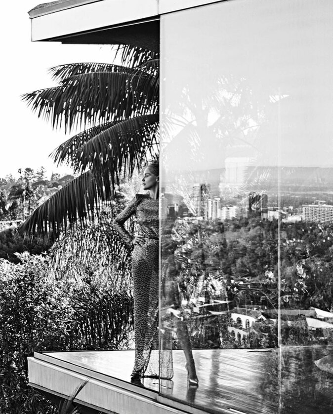 Sharon Stone na zdjęciach z portugalskiego Vogue'a