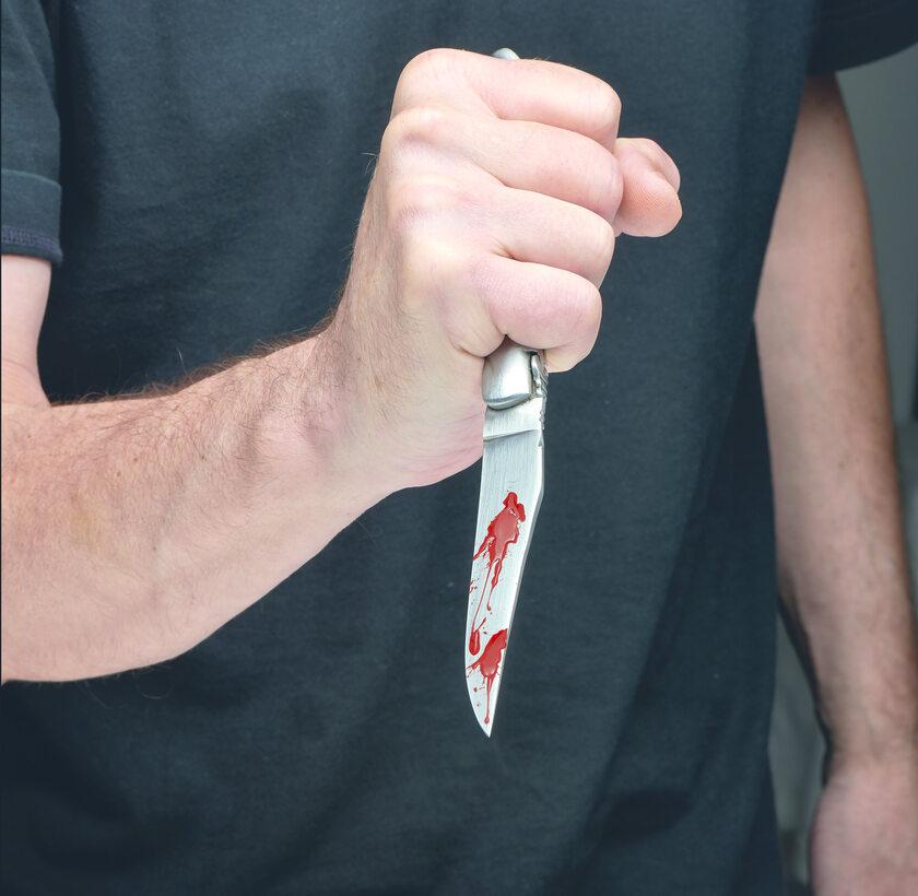 Nożownik, zdjęcie ilustracyjne