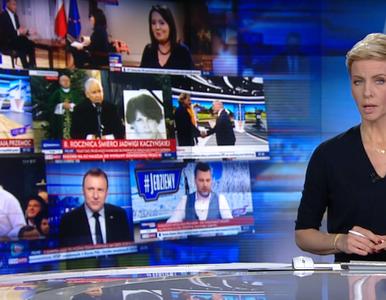 Ponad 4 minuty z TVP na antenie TVN. Na nagraniach m.in. Danuta Holecka...