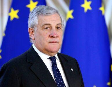 Tajani o brexicie: Zdecydowali się odejść – to ich problem, nie nasz