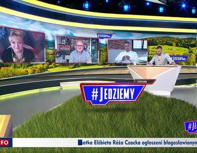 """Sonda o Macieju Stuhrze w TVP Info, komentatorzy """"#Jedziemy"""": Typowy..."""
