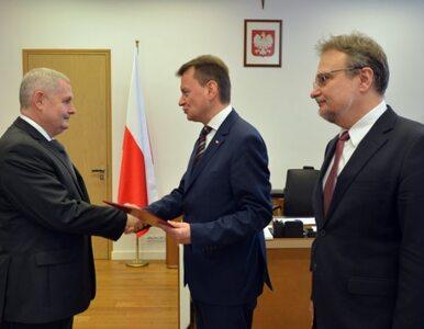 Mariusz Łapiński nowym szefem Straży Granicznej