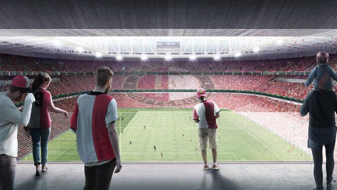 Nowy stadion wRotterdamie