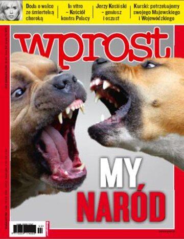 Okładka tygodnika Wprost nr 44/2010 (1447)