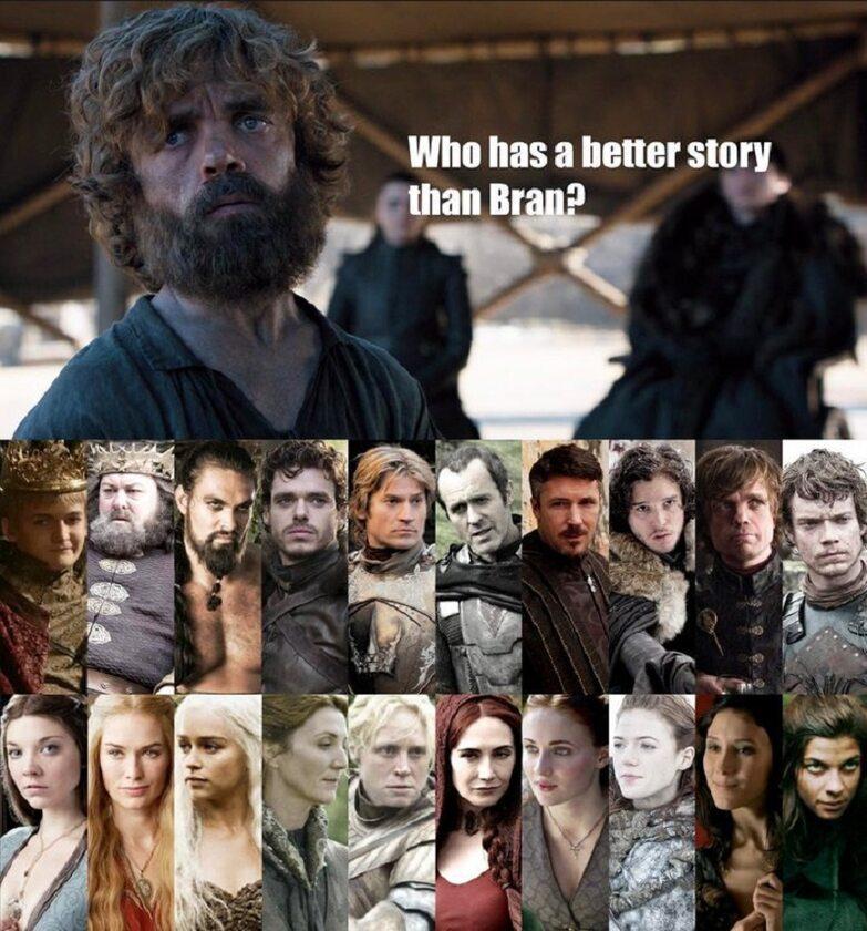Kto ma lepszą historię niż Bran?