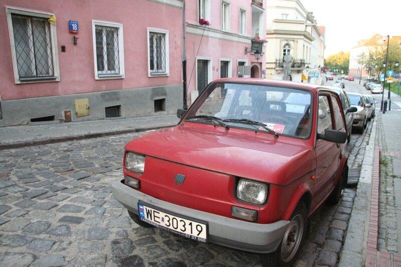 Maluch mały Fiat 126p