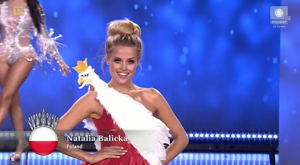 Natalia Balicka podczas konkurs Miss Supranational 2021
