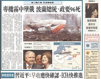 zagraniczne gazety o prezydencie